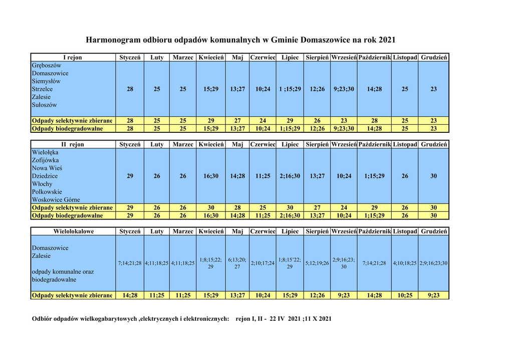 Harmonogram odbioru odpadów Gmina Domaszowice_2021.jpeg