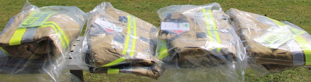 Ubrania bojowo-operacyjne przekazane OSP z terenu gminy Domaszowice.jpeg