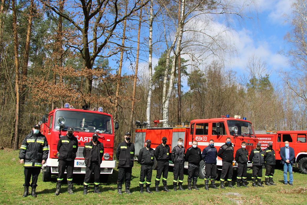 Jednostki Ochotniczych straży Pożarnych z Gminy Domaszowice, Prezes LZS Polonia Domaszowice Grzegorz Swędrak.jpeg