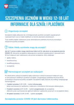 Szczepienia uczniów - informacje dla placówek.png