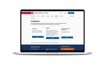 2_IKP_Ekran startowy w Profilaktyce i kafelek Ankieta.jpeg